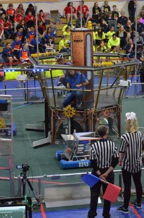 Peak Performance Robot Action